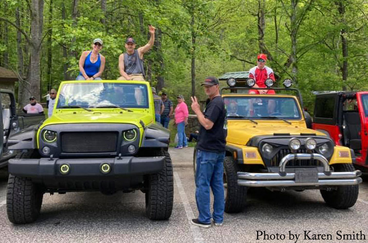 jeep go topless in wnc great smoky mountains